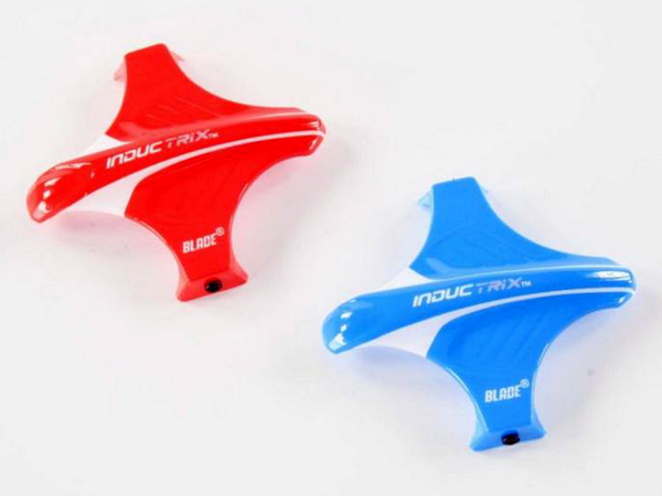 Blade Canopy Set Red and Blue: Inductrix BLH8704
