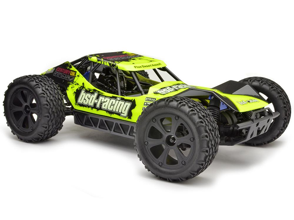 BSD Racing Flux Desert Assault V2 Buggy RTR - Brushless 1-BS218R