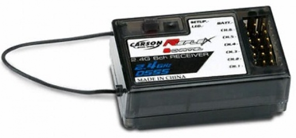Carson Receiver for C501001 Reflex Stick 2.4Ghz 6 Channel C501515
