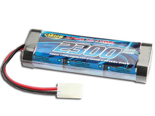 Image Of Carson 7.2V 2300mAh Racing Stick Pack Battery