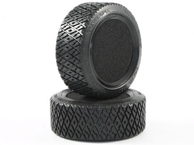 Image Of Carisma M40S Gravel Spec 1/10th Rubber Tyres (2)
