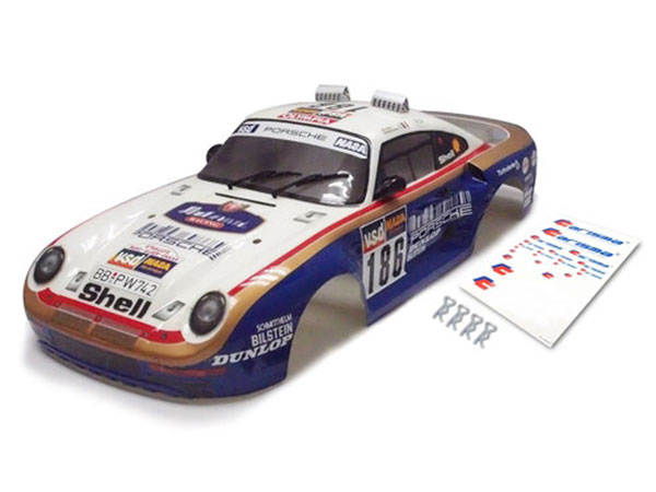 Carisma M48S Porsche 959 Painted/ Stickered Body Shell CA15128