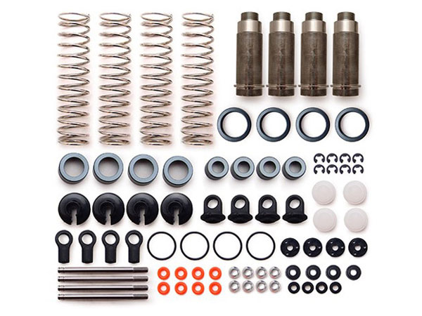 Carisma M10DT/ M10DB Aluminium Adjustable Oil Filled Shock Set (4) CA15285