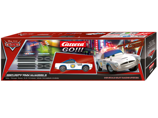 Image Of Carrera Disney Pixar Cars Extension Set - Security Finn McMissle