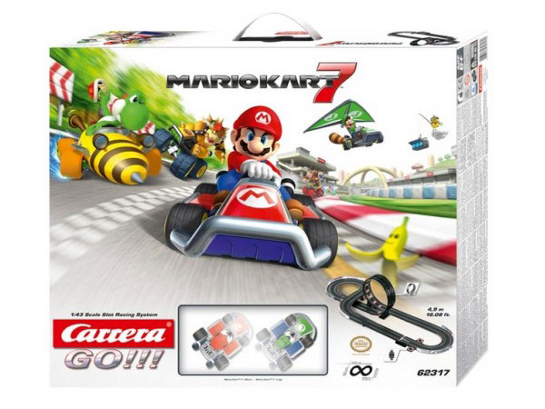Image Of Carrera Mario Kart 7 Slot Car Racing Set