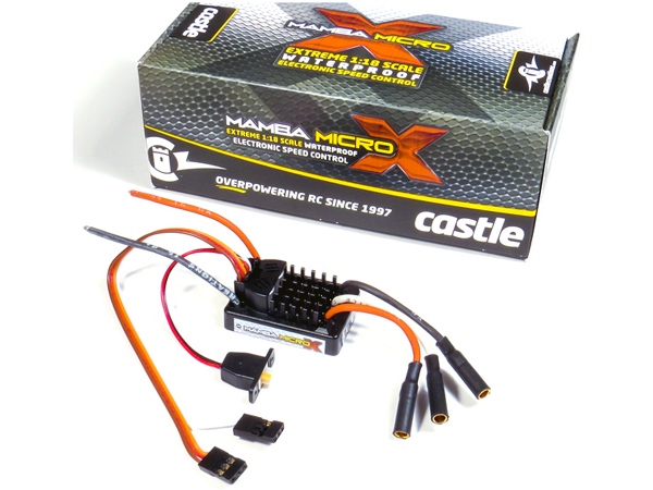 Image Of Castle Mamba Micro X 1:18th Car ESC
