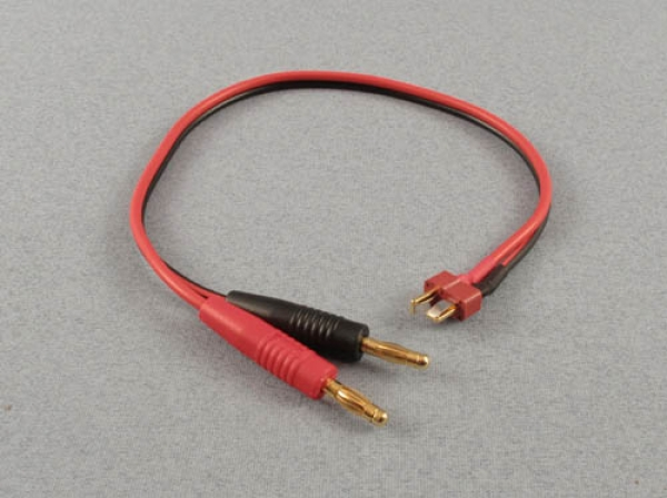 Logic RC Charge Lead 4mm To Deans Male O-LGL-CLDNS