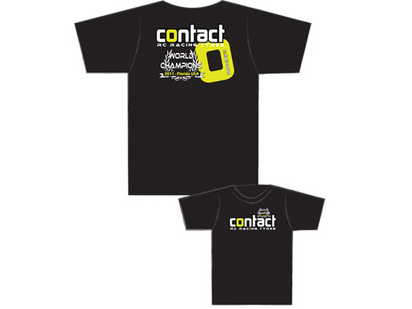 Contact RC Tyres Small T Shirt J001S