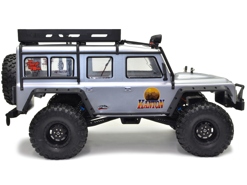 Land Rover Style 1:10XL 4x4 Rock Crawler RTR RC Car inc Bat+Crg FTX KANYON