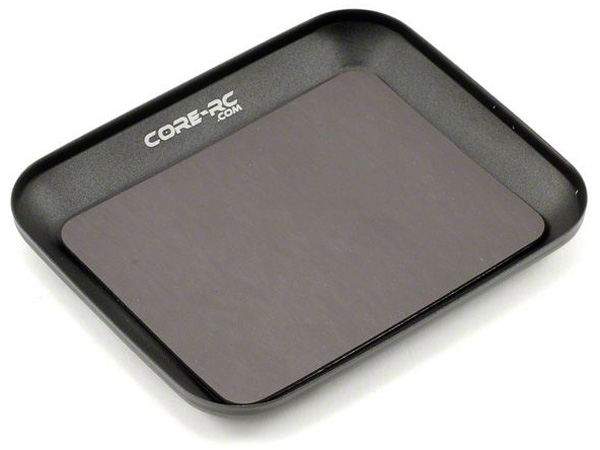 Core RC Magnetic Parts Tray - Black CR103