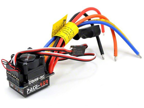 Image Of Core RC Passion PACE 45 Brushless ESC 1S/2S