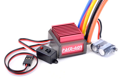 Core RC PACE 60R Brushless ESC 1S/2S CR199