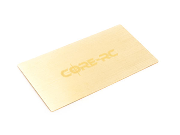 Core RC Under LiPo Weight 35g Brass 1S/ Shorty CR519