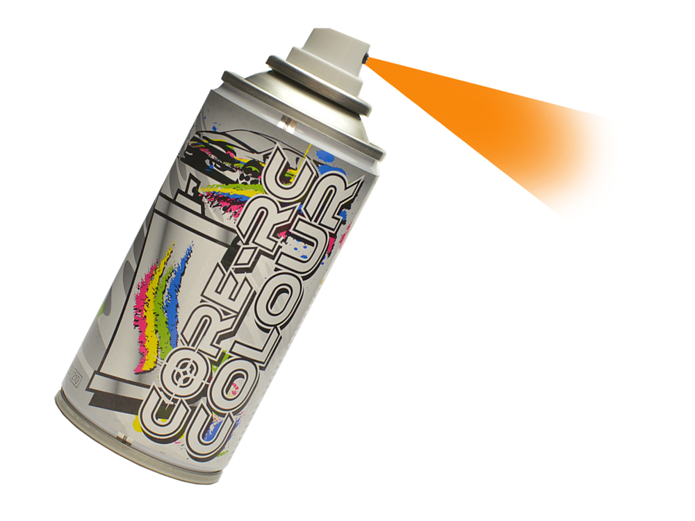 Core RC Aerosol Paint - Neon Carrot CR616