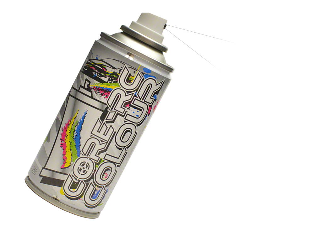 Core RC Aerosol Paint - Clear Backing CR628