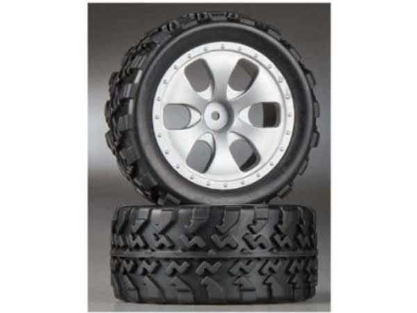 Dromida MT4.18 Wheel and Tyres Set DIDC1045