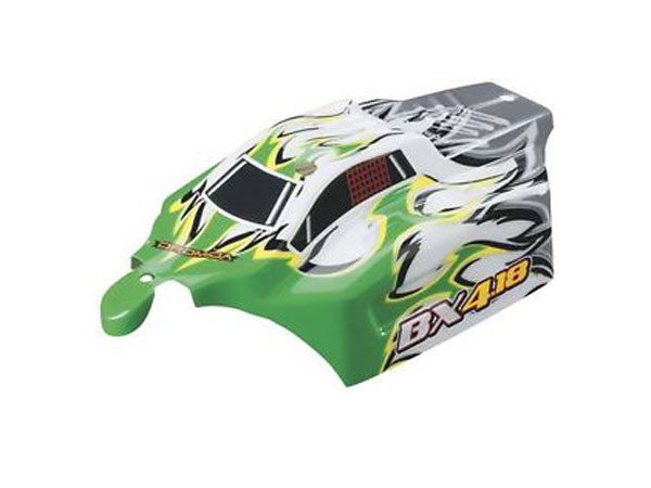 Dromida BX4.18 Body Shell (Green/ White) DIDC1136
