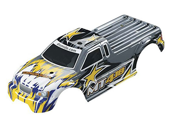 Dromida MT4.18 Body Shell (Yellow/ Silver) DIDC1138