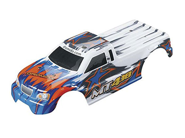 Dromida MT4.18 Body Shell (White/ Blue) DIDC1139