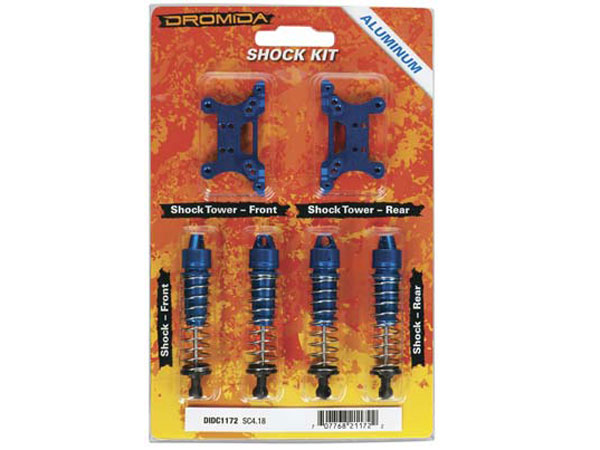 Dromida Aluminium Shock Towers and Shocks Upgrade Kit SC4.18 DIDC1172