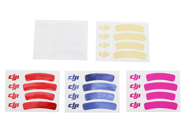 DJI Phatom 3 Pro/ Advanced Sticker Set Set DJI-P3-PART43