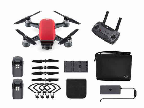 ../_images/products/small/DJI Spark Mini Drone Fly More Combo - Lava Red