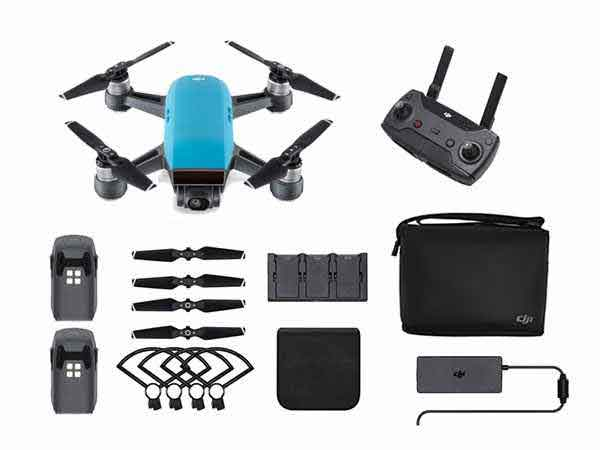 ../_images/products/small/DJI Spark Mini Drone Fly More Combo - Sky Blue