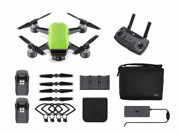../_images/products/small/DJI Spark Mini Drone Fly More Combo - Meadow Green