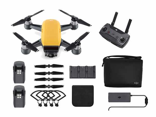 ../_images/products/small/DJI Spark Mini Drone Fly More Combo - Sunrise Yellow
