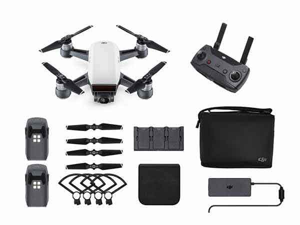 ../_images/products/small/DJI Spark Mini Drone Fly More Combo - Alpine White
