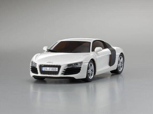 ../_images/products/small/Kyosho 1:43 Audi R8 2006 - White