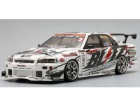 Image Of Yokomo D1 Drift Package - Blitz Dunlop ER34 Skyline