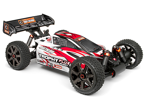 HPI Clear Trophy Buggy Flux Bodyshell W/window Masks And Decals 101716