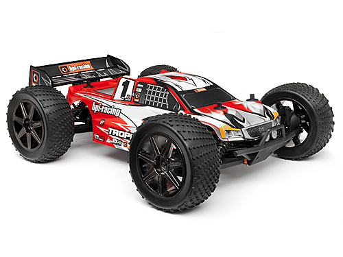 HPI Clear Trophy Truggy Flux Bodyshell W/window Masks And Decals 101717