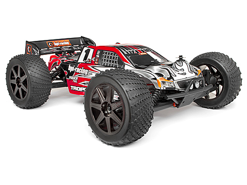 HPI Clear Trophy Truggy Bodyshell W/window Masks And Decals 101779