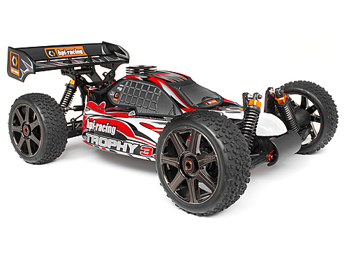 HPI Clear Trophy 3.5 Buggy Bodyshell W/window Masks And Decals 101796