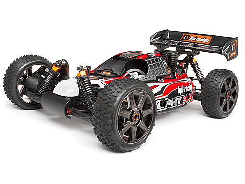 HPI Trimmed And Painted Trophy 3.5 Buggy 2.4ghz Rtr Body 101782