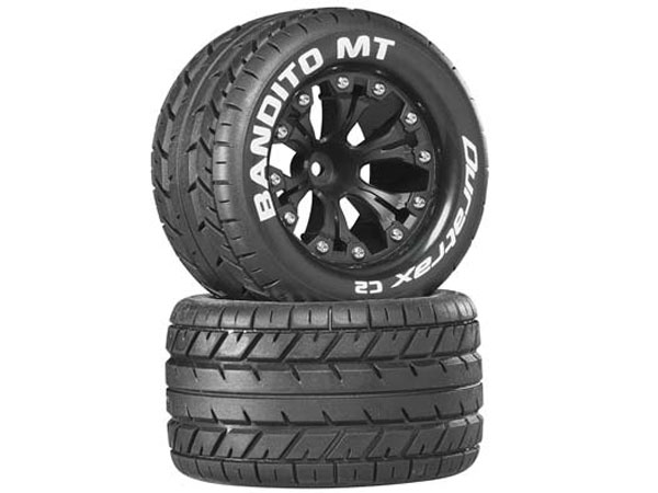 Duratrax Bandito MT 2.8in Wheel and Tyres (2) DTXC3504