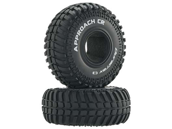 Duratrax 2.2 Approach CR Tyre (2) C3 DTXC4063