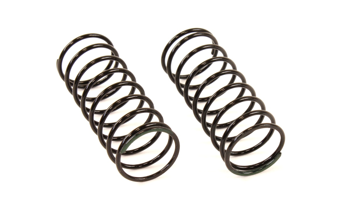 Team Durango Big Bore Shock Springs: 45mm Olive Green (85gf/mm)(2pcs) TD330282