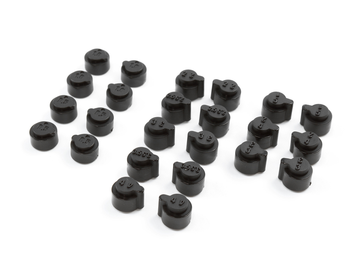 Team Durango Toe-in And Kick-up Inserts TD330303