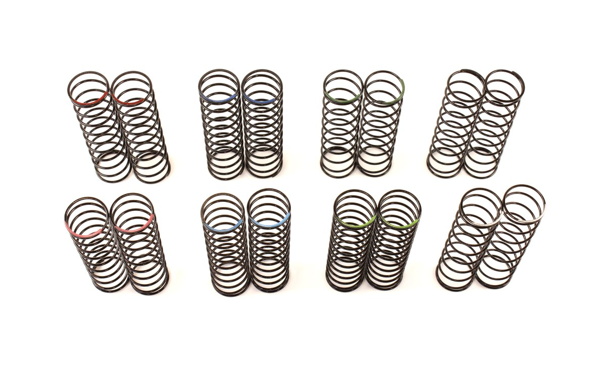 Team Durango Big Bore Spring Set: 65mm Length (8 Pairs) TD230028