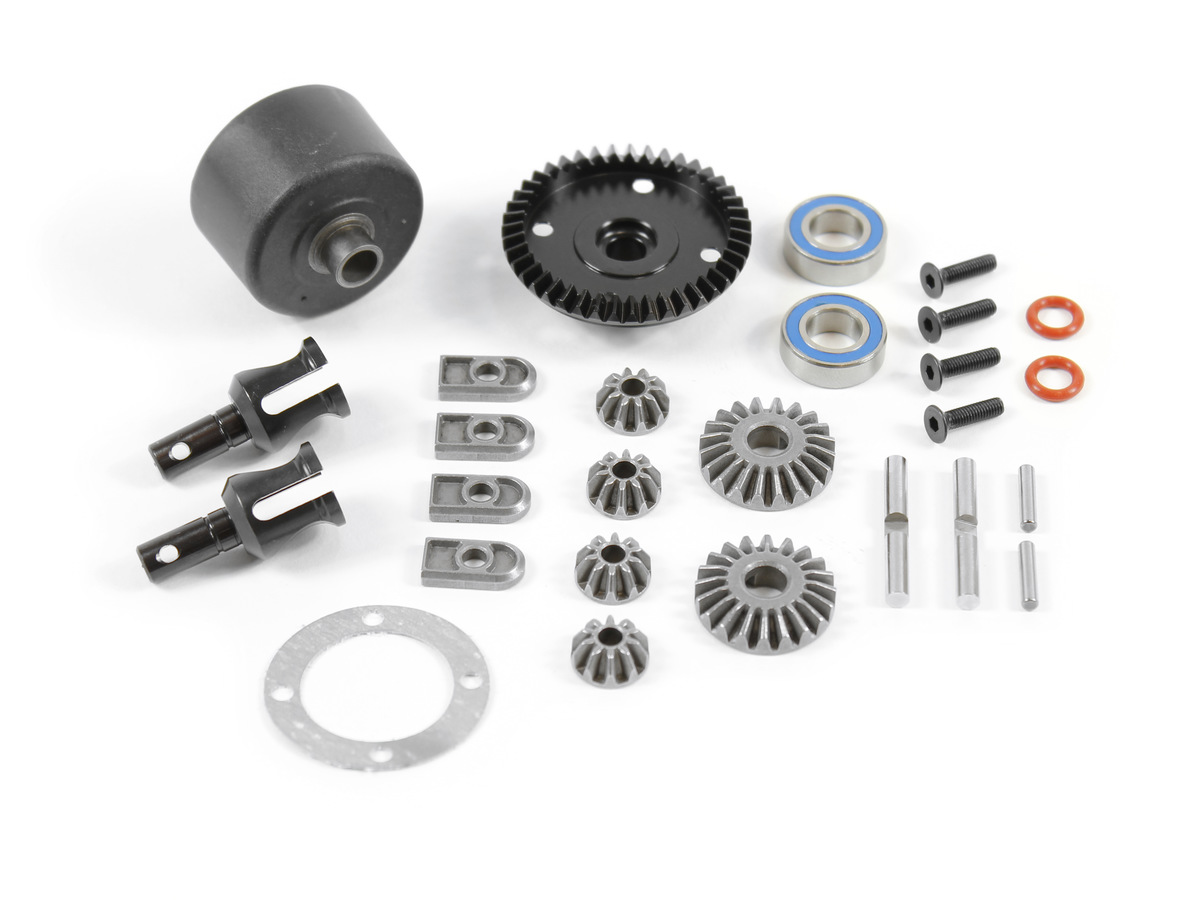 Team Durango Complete Diff Set (front Or Rear) TD210023