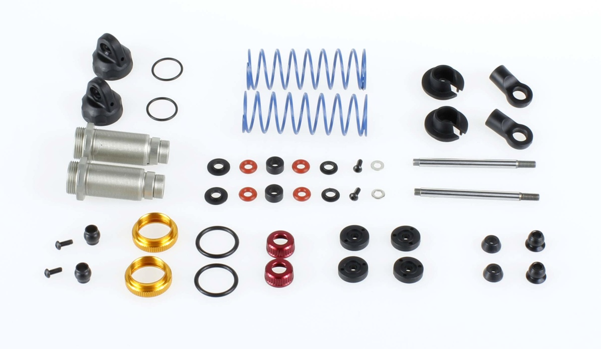 Team Durango 1/10 Electric Shock Absorber Set: Standard Bore Front TD230010