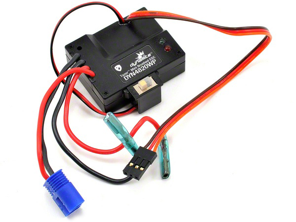 Image Of Dynamite Tazer Waterproof Mini Brushed ESC