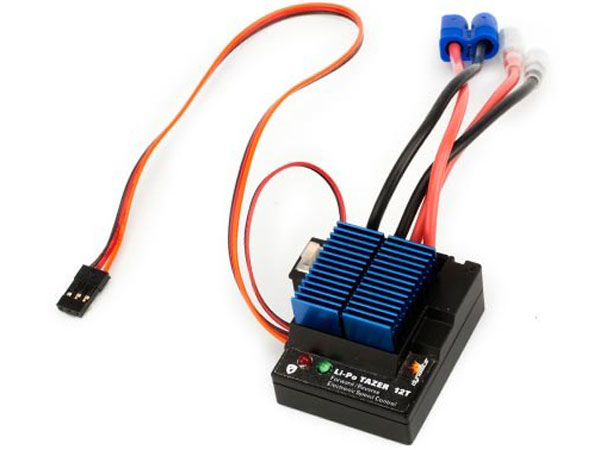 Image Of Dynamite LiPo Tazer 12T Waterproof Forward/Reverse ESC