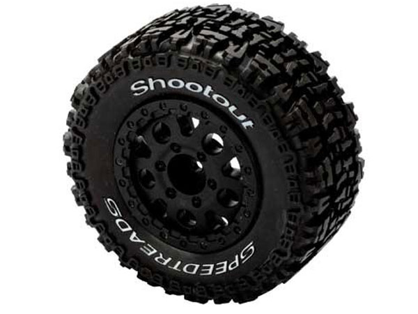 Dynamite Speedtreads Shootout Short Course Tyre (2) DYN5124