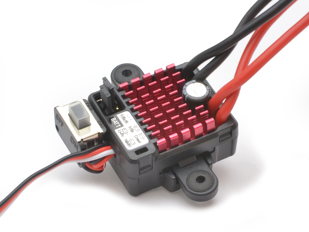 Image Of Dynamite Waterproof 60amp Forward and Reverse Brushed ESC