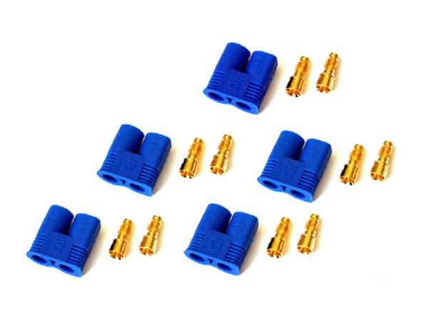 Image Of Modelsport UK Pack of 5 Male EC3 Connectors