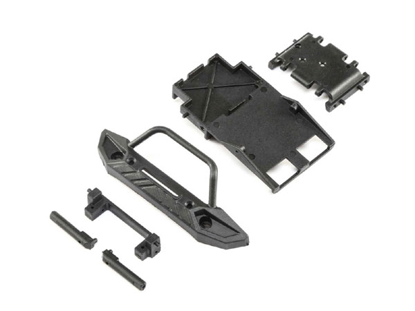 ECX Chassis Supports: 1/24 4WD Barrage Scaler ECX201015